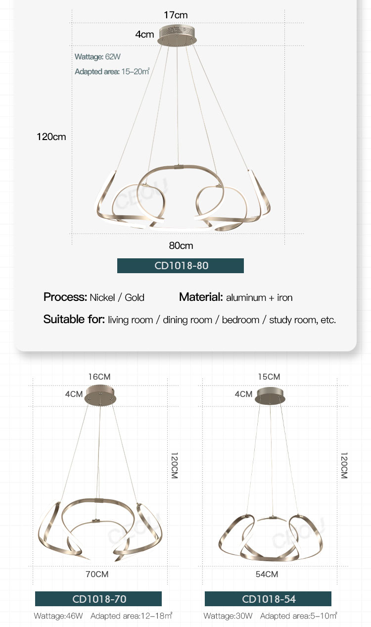 product-CEOU-Home decorative modern ceiling pendant lamp for living room CD1018-img