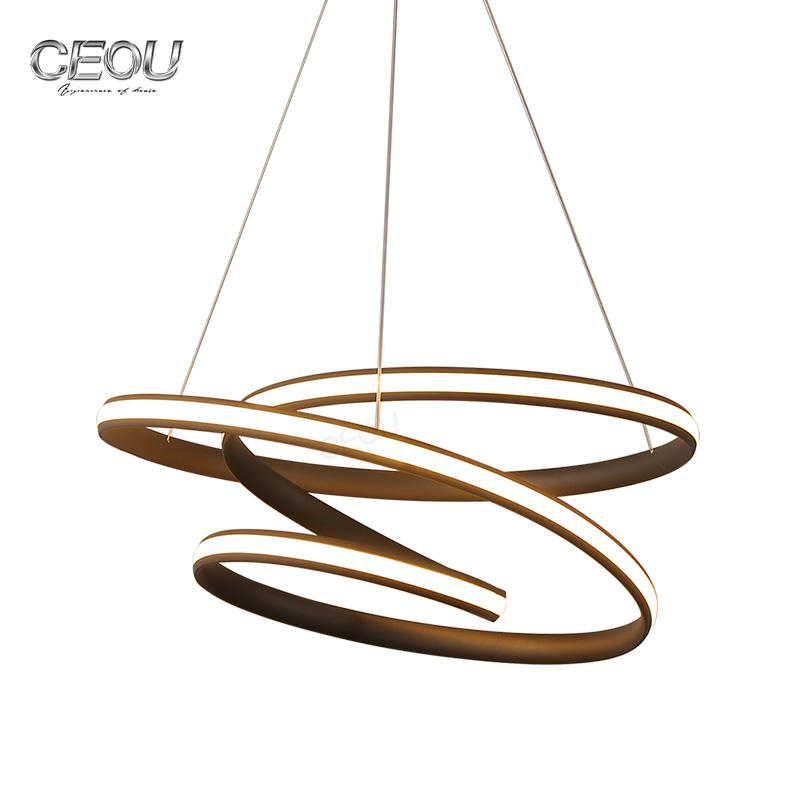 Indoor Decor Modern Home Ring Pendant Light CD1020