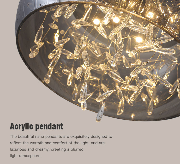 CEOU beautiful ceiling led panel light high quality for bedroom-5