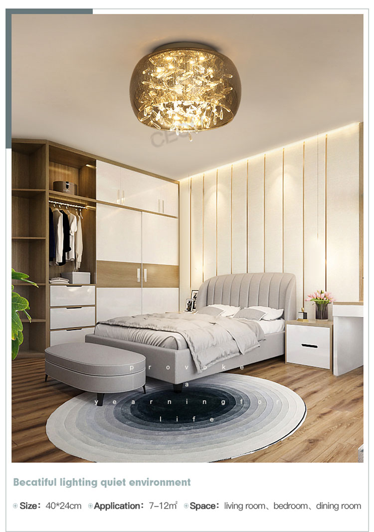 CEOU beautiful ceiling led panel light high quality for bedroom-8
