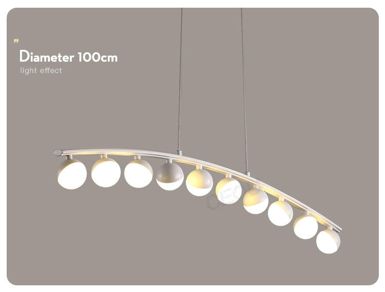 circular led pendant light customized for hotel CEOU