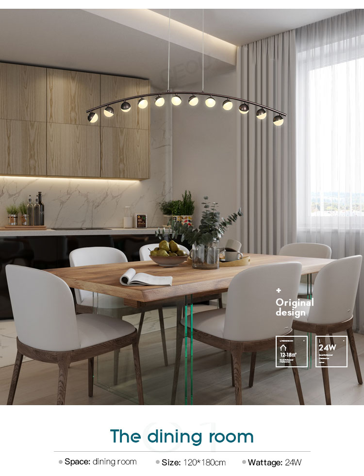 CEOU aluminum pendant light fixtures manufacturer for dinning room-10