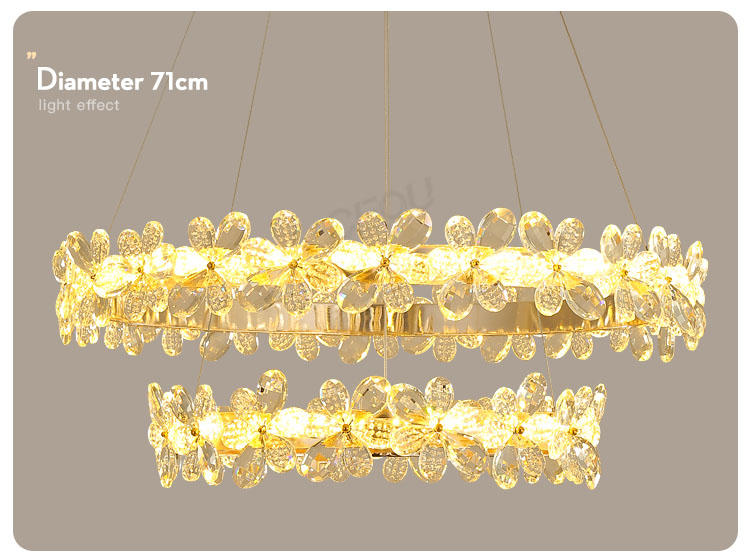 CEOU romantic hanging lamp design acrylic for dinning room