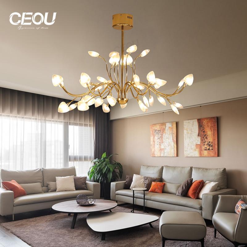 application-CEOU simple chandelier lights for living room flower shaped for living room-CEOU-img-1