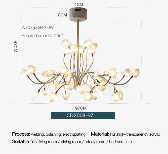 CEOU extraordinary chandelier light amazing for hotel-4