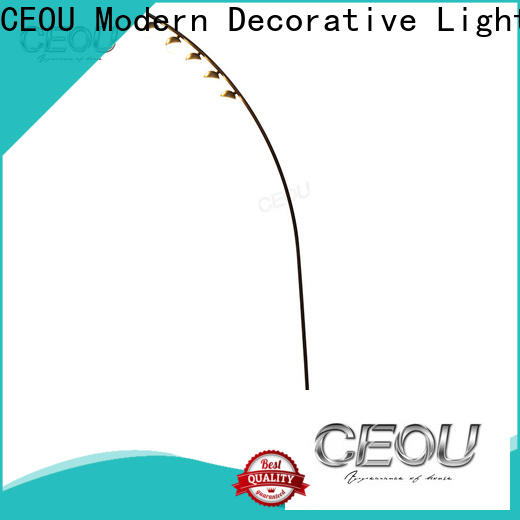 CEOU antioxidant modern industrial floor lamp manufacturers for hotel