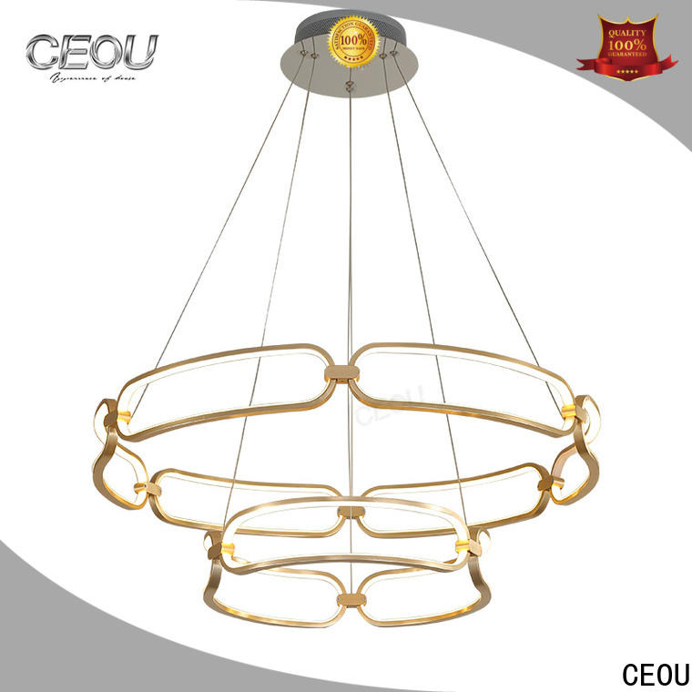 CEOU flower shaped modern ceiling pendant factory for dinning room
