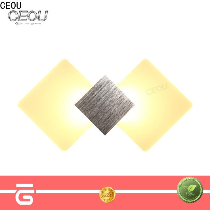 CEOU high quality metal wall lights indoor manufacturers for aisle