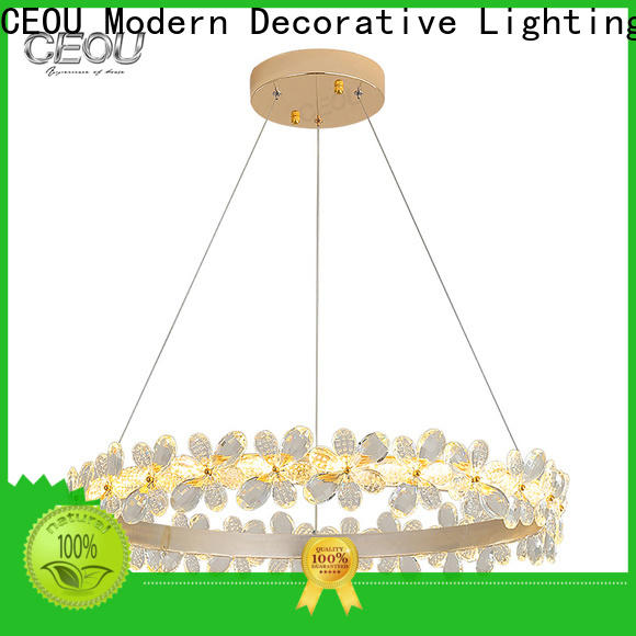 New modern ceiling pendant lights aluminum manufacturers for hotel
