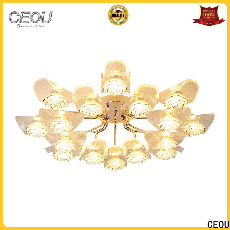high quality modern bedroom ceiling lights flower shape customized for bedroom
