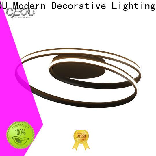 CEOU gold led light ceiling design manufacturer for home decor