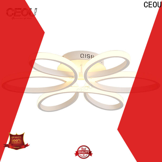 CEOU Latest decorative ceiling light fixtures Supply for hotel