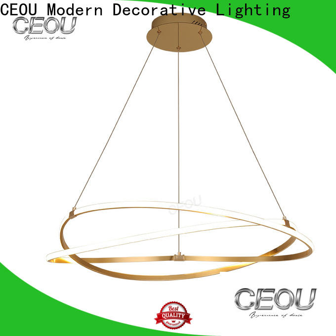 CEOU gold chandelier bedroom light customized for home decor