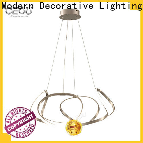 CEOU glass contemporary dining room chandeliers for business for living room
