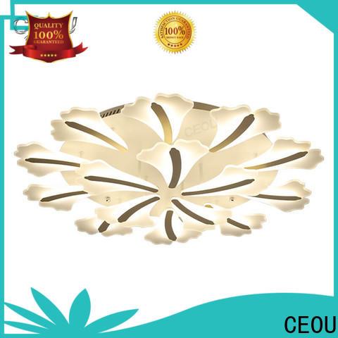 CEOU flower shape fancy led ceiling lights for home decor