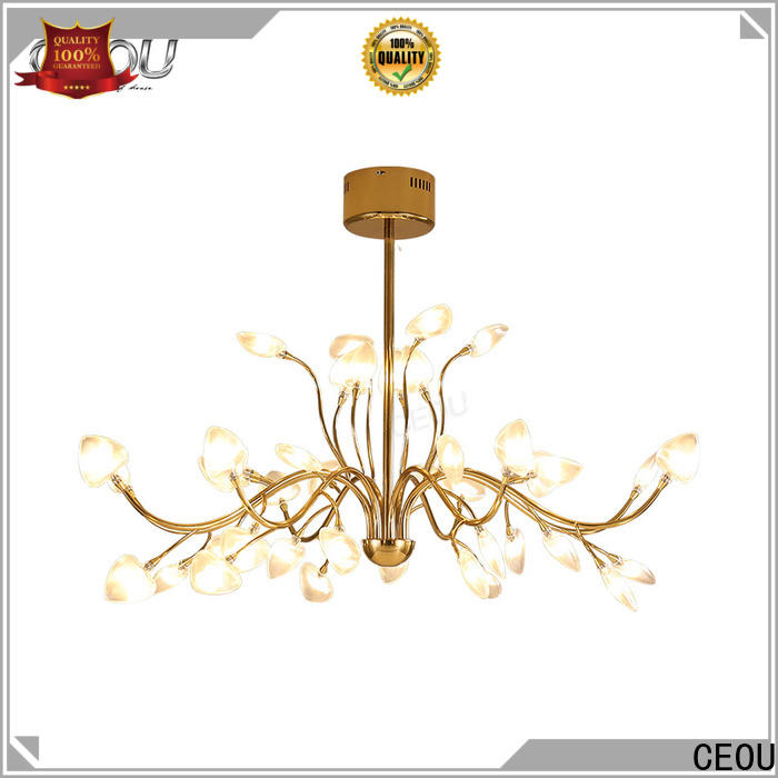 CEOU gold pendant ceiling lights for hotel