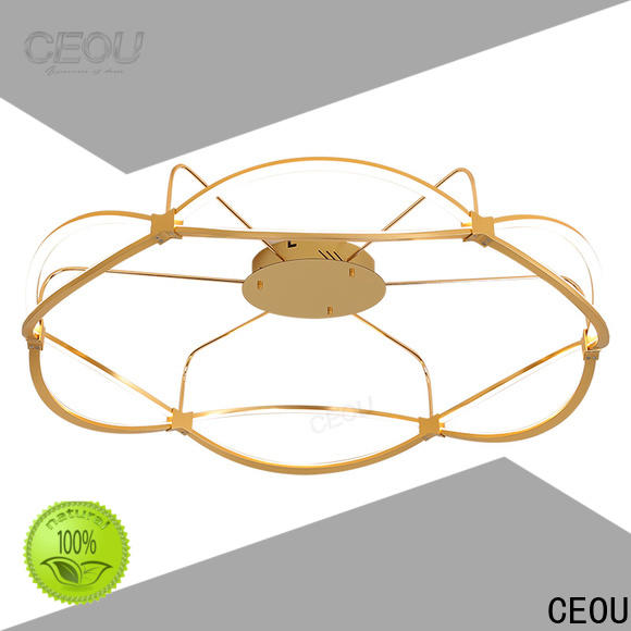 CEOU luxury fancy led ceiling lights manufacturers for home decor