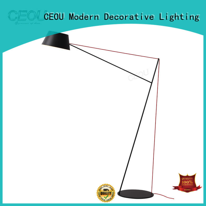 CEOU High-quality decorative floor standing lights manufacturer for hone decor