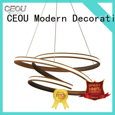 CEOU aluminum decorative glass pendant light company for living room