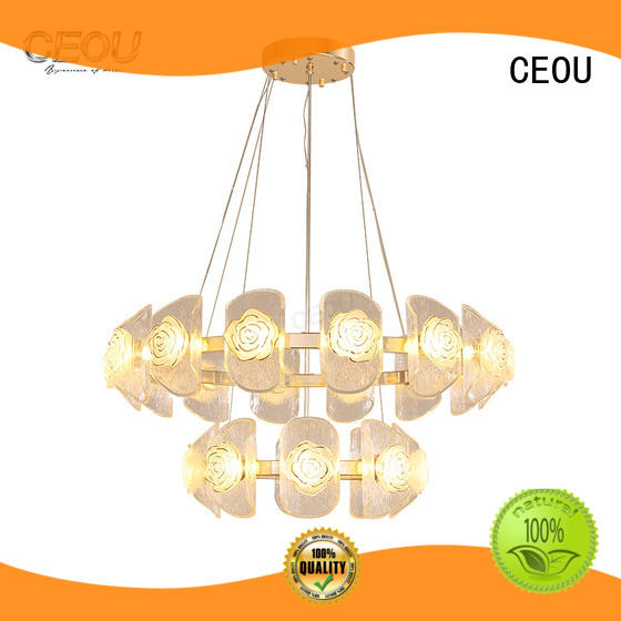 CEOU luxury fancy chandelier customized for dinning room