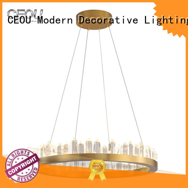 CEOU circular commercial led pendant light fixtures Suppliers for living room
