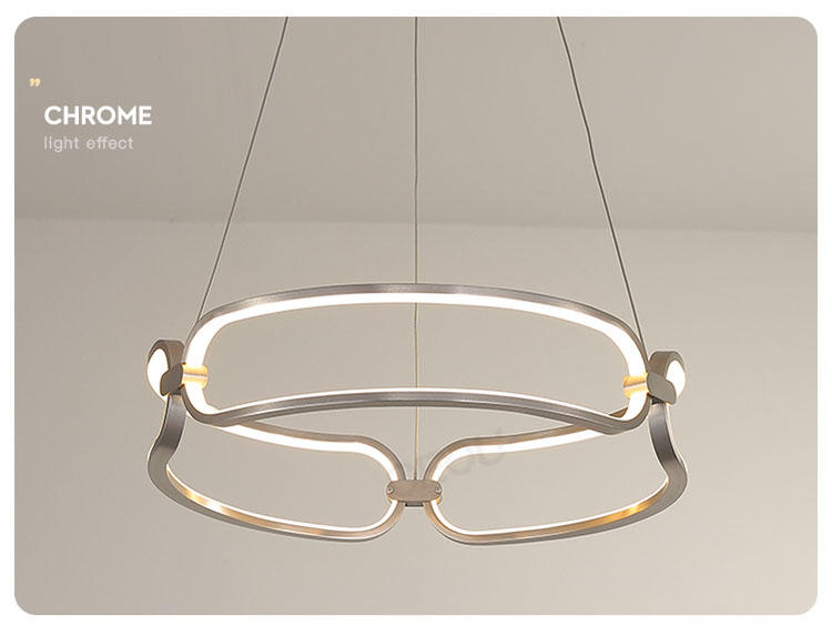 linear pendant lamp amazing for hotel CEOU-2