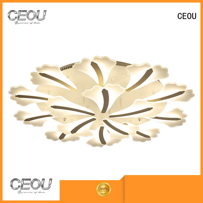 beautiful fancy ceiling lights glass high quality for living room
