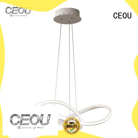 CEOU Custom modern led pendant lights customized for living room