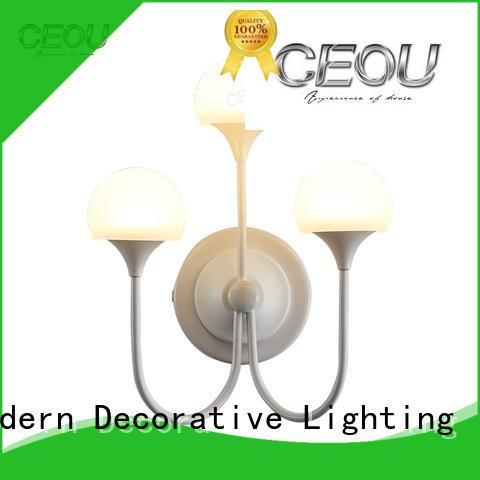 CEOU romantic wall fancy light aluminum for living room