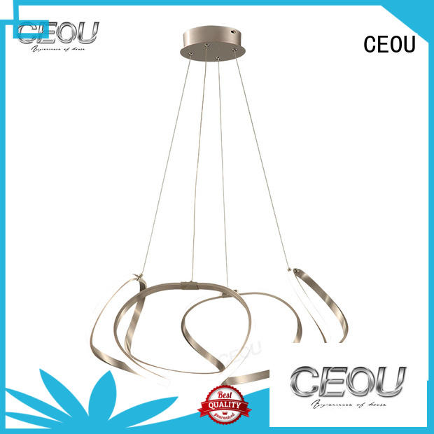 CEOU circular chandelier lamp amazing for dinning room