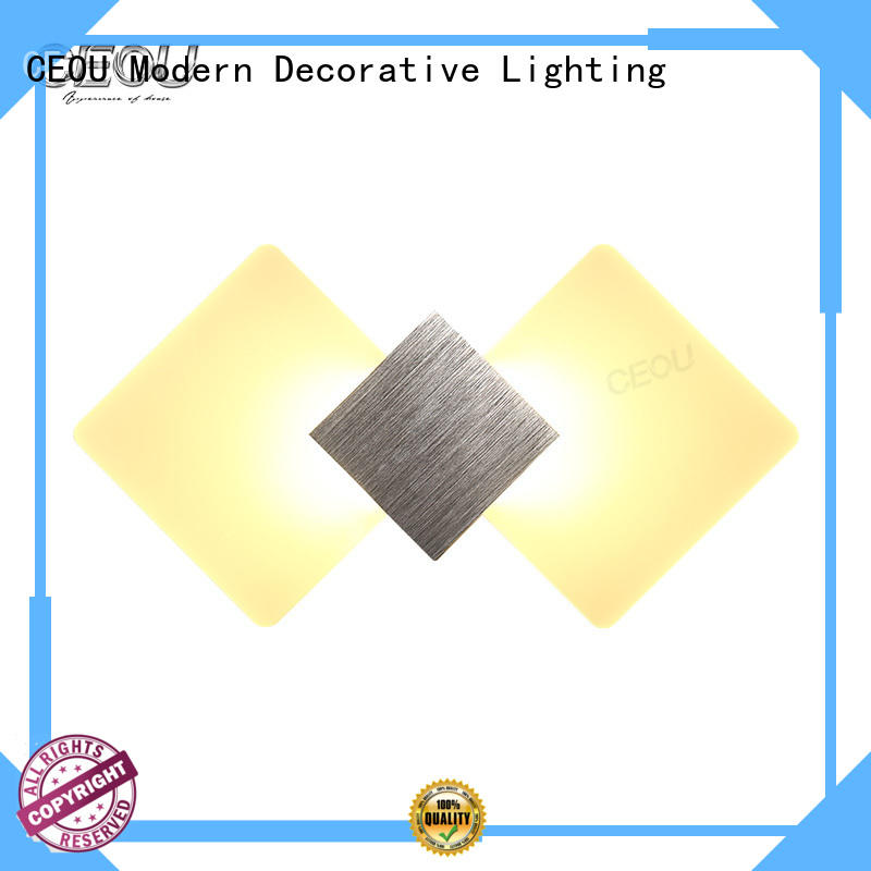 CEOU acrylic glass wall lamp factory for bedroom
