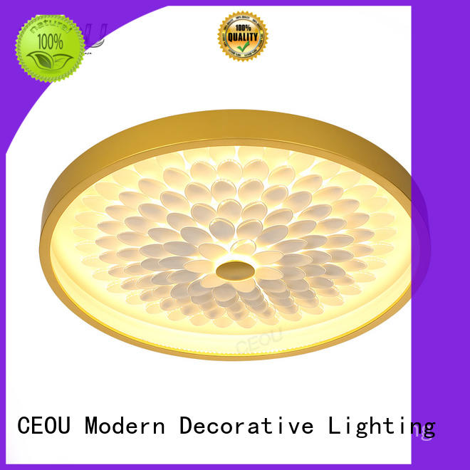 CEOU acrylic led ceiling chandelier manufacturer for home decor