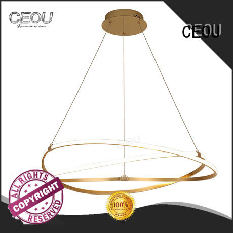 CEOU acrylic hanging lamps for ceiling manufacturer for dinning room