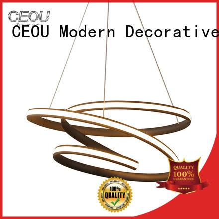 CEOU aluminum hanging pendant chandelier Suppliers for home decor