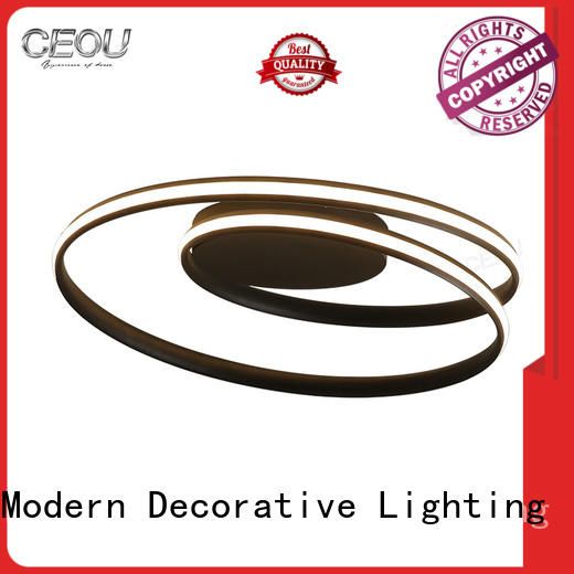 gold fancy ceiling lights high quality for bedroom CEOU