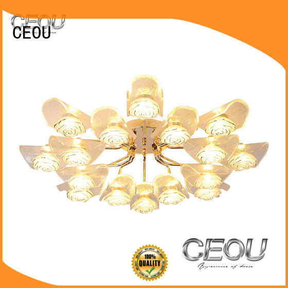 CEOU sand black led ceiling light fixtures for business for home decor