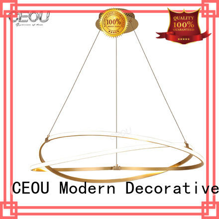 CEOU acrylic hanging pendant lights supplier for dinning room