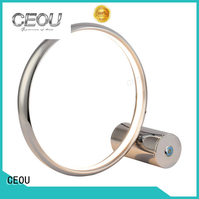 special unique table lamps circle ring high quality
