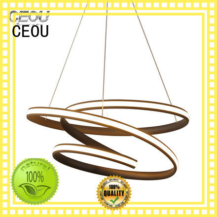CEOU crystal unique pendant lights amazing for dinning room