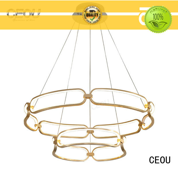 CEOU luxury linear pendant lighting manufacturer for dinning room