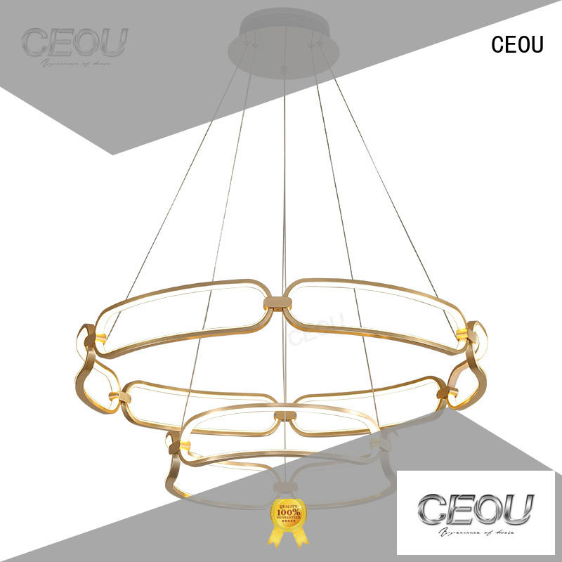 linear pendant lamp amazing for hotel CEOU