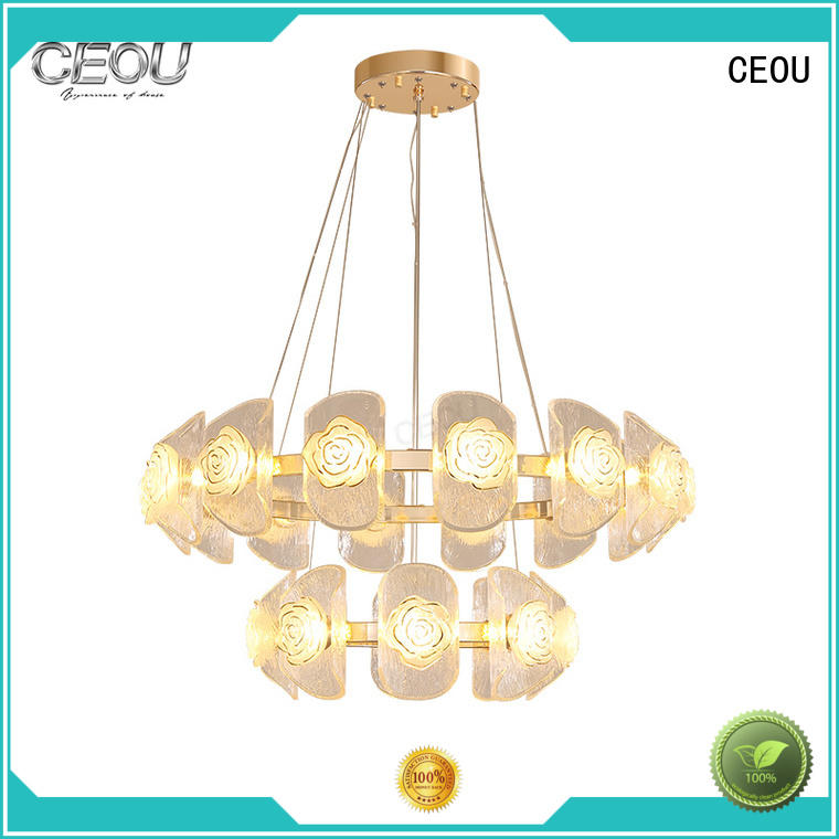 CEOU crystal chandelier lamp factory for living room