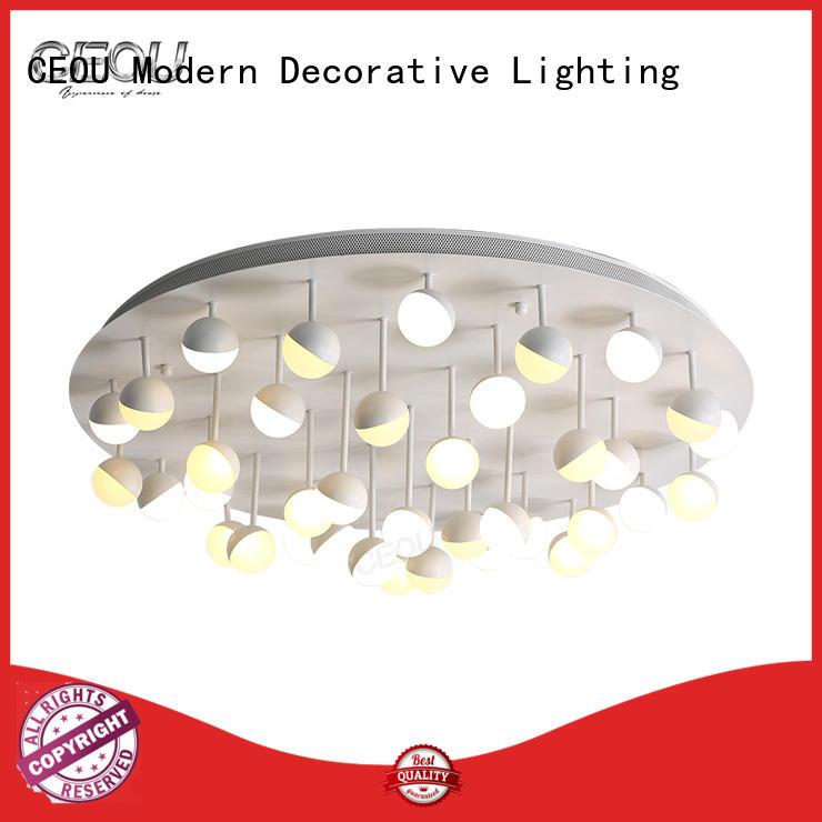 sunflower pattern fancy ceiling lights manufacturer for bedroom CEOU