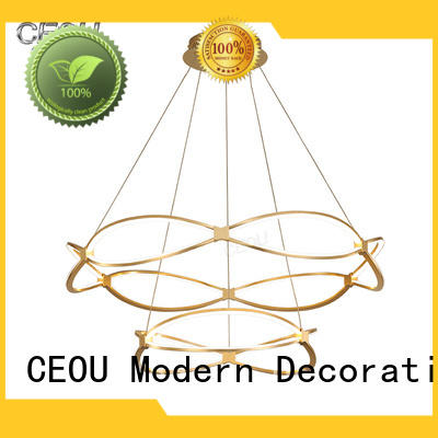 CEOU circular ceiling chandelier customized for hotel