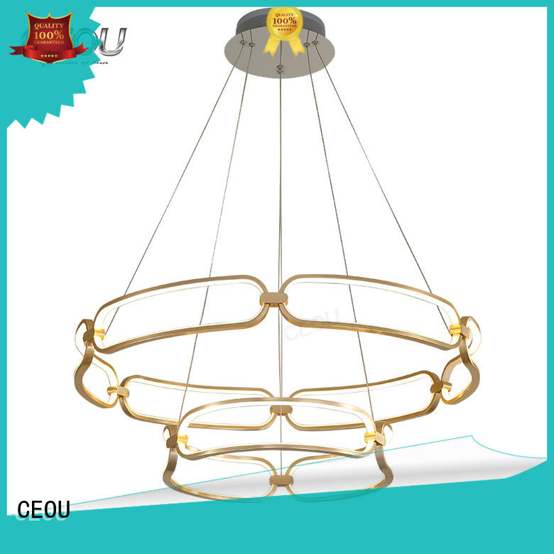 CEOU crystal modern pendant customized for dinning room