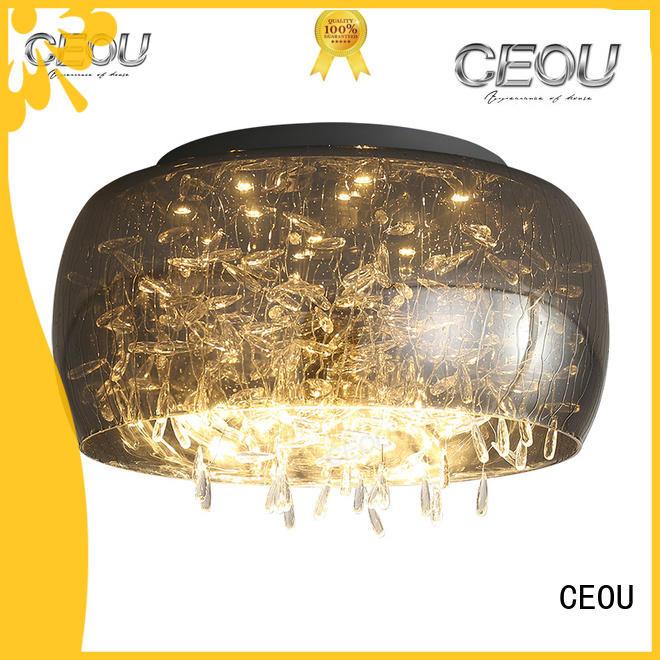 CEOU aluminum ceiling light fixture supplier for bedroom