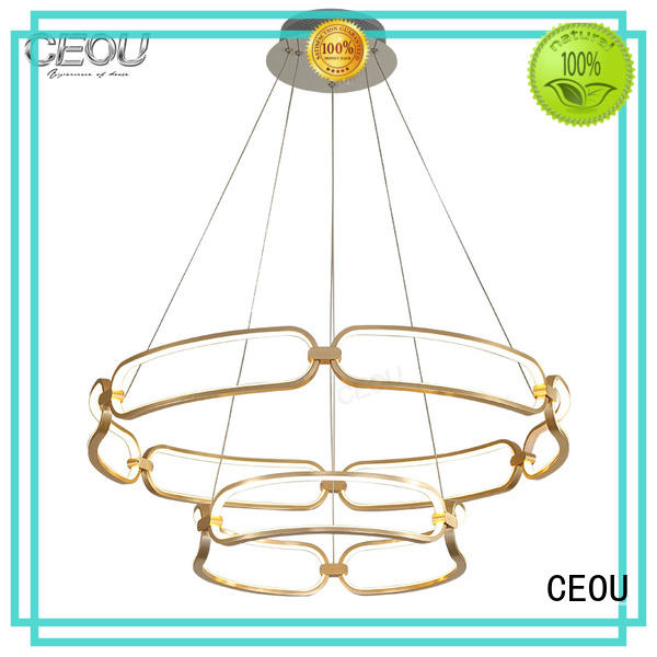 simple chandelier lamp flower shaped customized for dinning room