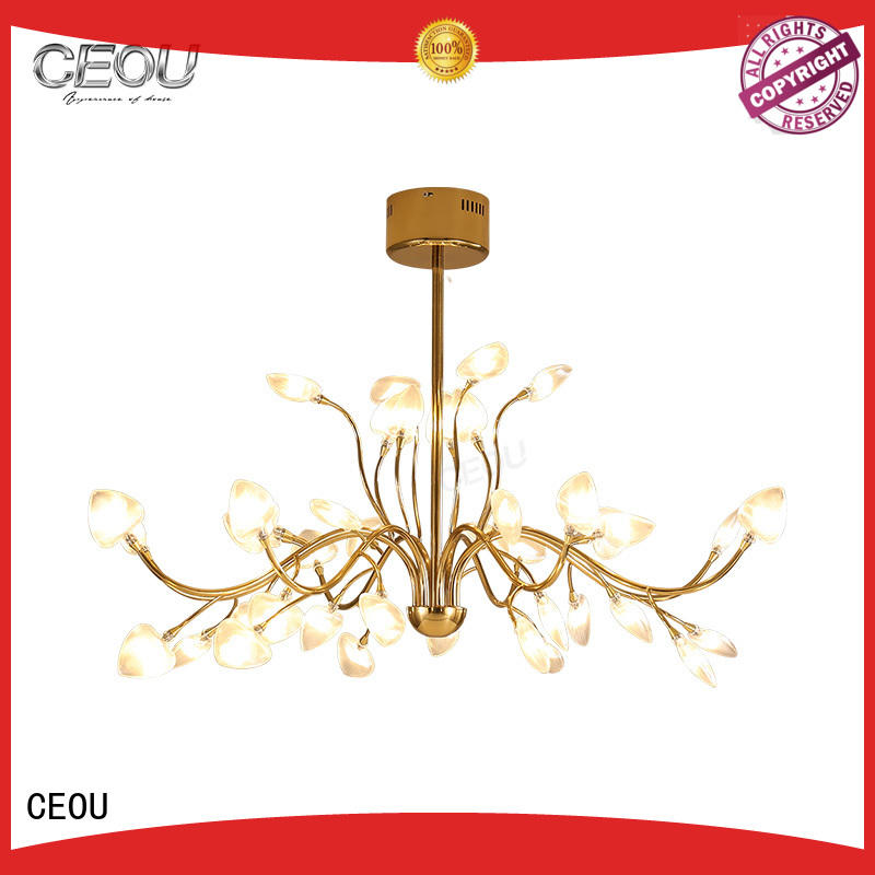 CEOU beautiful decorative chandelier customized for living room
