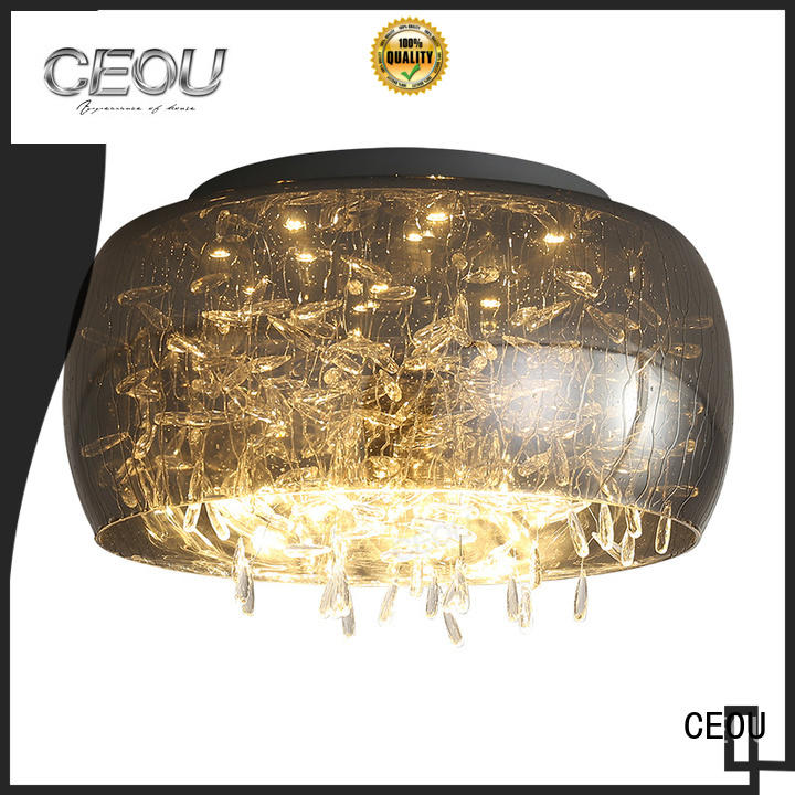 CEOU glass decorative ceiling lights manufacturer for living room