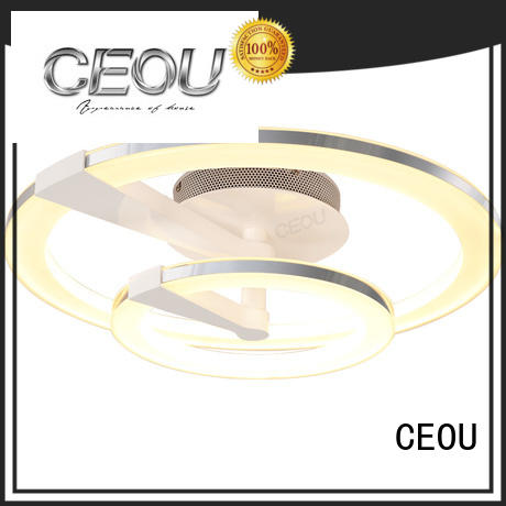 CEOU round contemporary ceiling lights supplier for hotel
